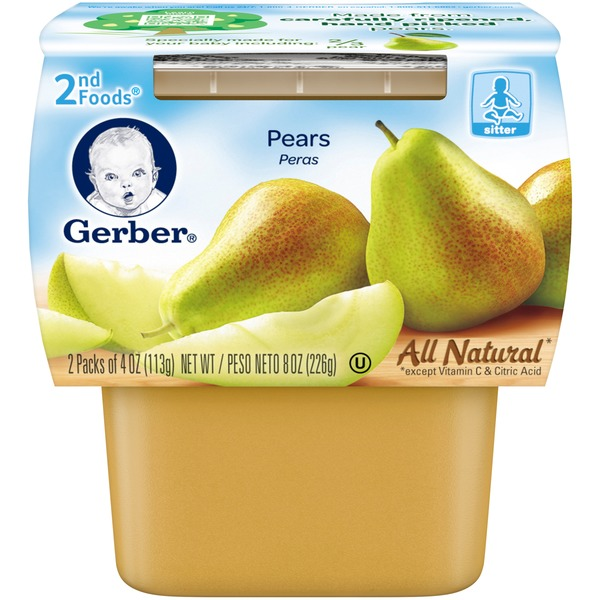 Gerber 2 Nd Foods Pears Baby Food