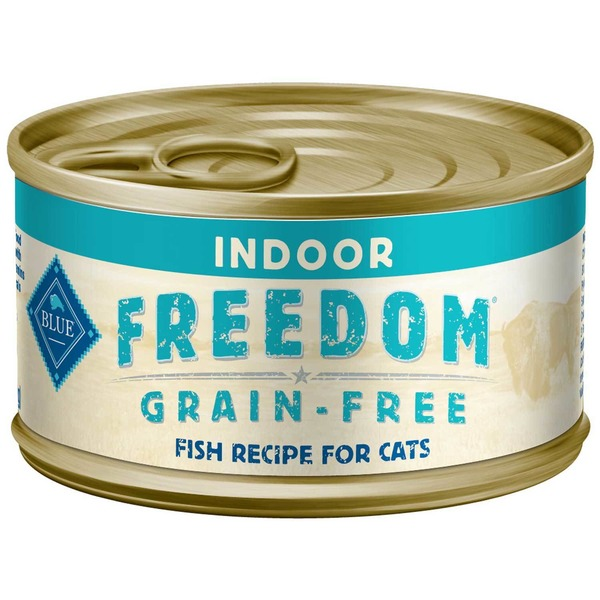 Blue Buffalo Freedom Grain Free Fish Recipe for Indoor Cats