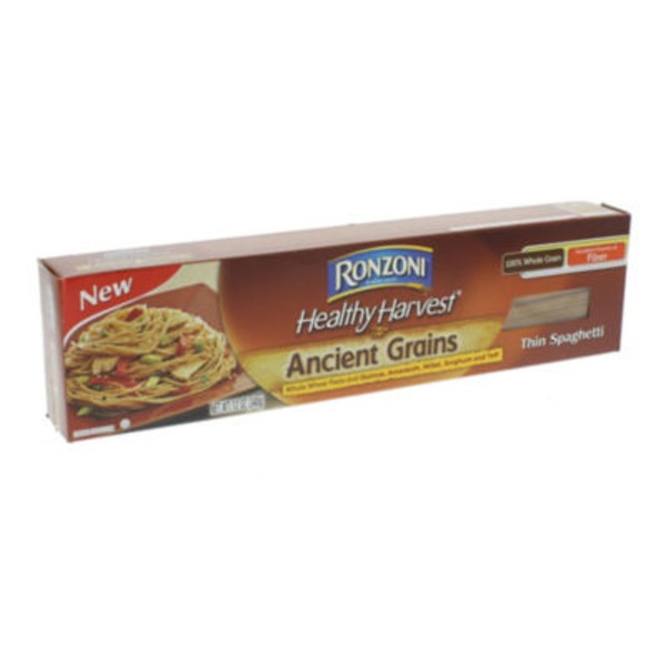 Ronzoni Healthy Harvest Whole Wheat Pasta & Ancient Grains Thin Spaghetti