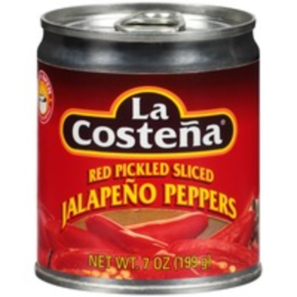 La Costeña Red Pickled Sliced Jalapeno Peppers