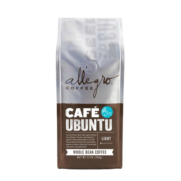 Allegro Cafe Ubuntu Whole Bean Coffee