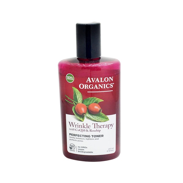 Avalon Organics Wrinkle Therapy with CoQ10 & Rosehip Perfecting Facial Toner