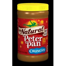 Peter Pan 100% Natural Crunchy Peanut Butter Spread, 16.3 Ounce