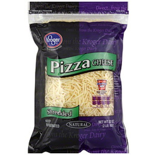 Kroger Pizza Blend All Natural Shredded Cheese