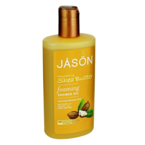 Jason Foaming Shower Oil Nourishing Shea Butter