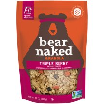 Bear Naked All Natural - FIT Granola Triple Berry Crunch Cereal, 12 oz