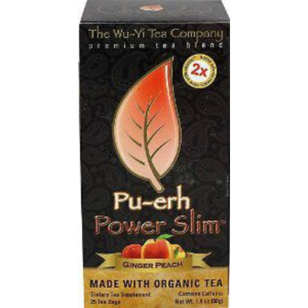 The Wu Yi Tea Company Ginger Peach Power Slim Tea