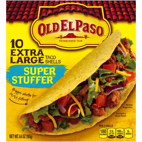 Old El Paso Super Stuffer Taco Shells