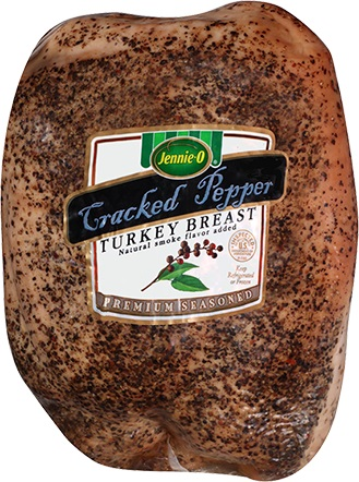 Jennie-o Turkey Cracked Pepper Turkey Breast Deli Sliced 1lb.