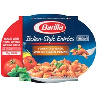 Barilla Ready Meals Italian-Style Entrees Tomato & Basil Whole Grain Penne Pasta