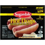 Sugardale Hot Dogs, 30 count, 48 oz