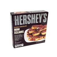 Hershey Double Chocolate Mini Eclairs Delicate Pastries