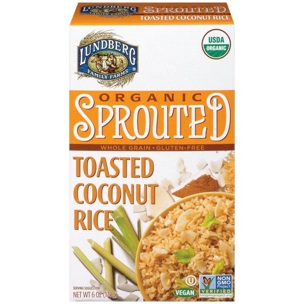 Lundberg Family Farms Organic Sprouted Toasted Coconut Rice