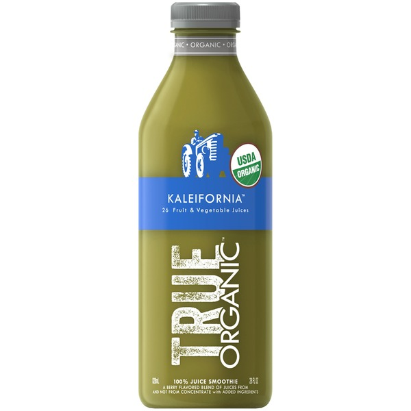 True Organic Kaleifornia 100% Juice Smoothie