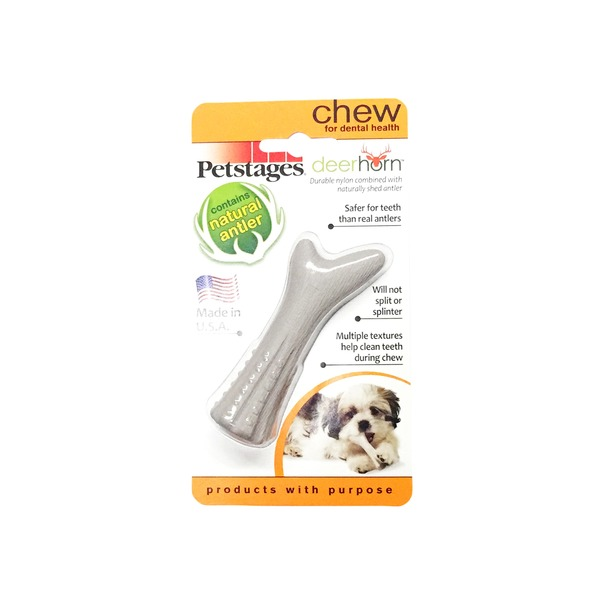 Petstages Deer Horn Dog Chew Mini 0.9