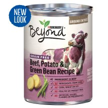 Purina Beyond Grain-Free Beef, Potato & Green Bean Recipe Ground Entree Adult Wet Dog Food - 13 oz. Can