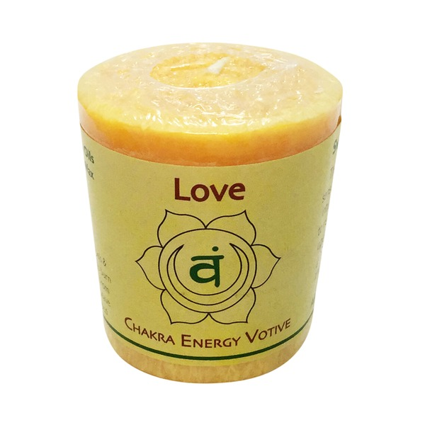 Aloha Bay Chakra Votive Candle Love