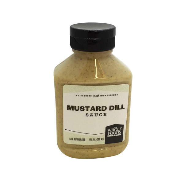 Whole Foods Market Mustard Dill Sauce