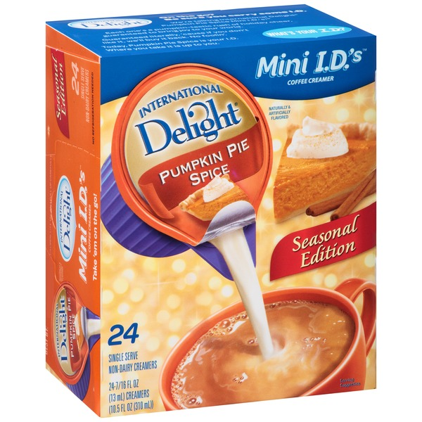 International Delight Pumpkin Pie Spice Single Serve Non-Dairy Creamers