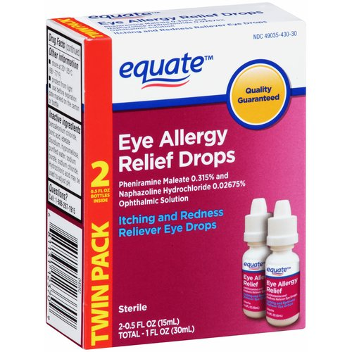 Equate Eye Allergy Relief Drops
