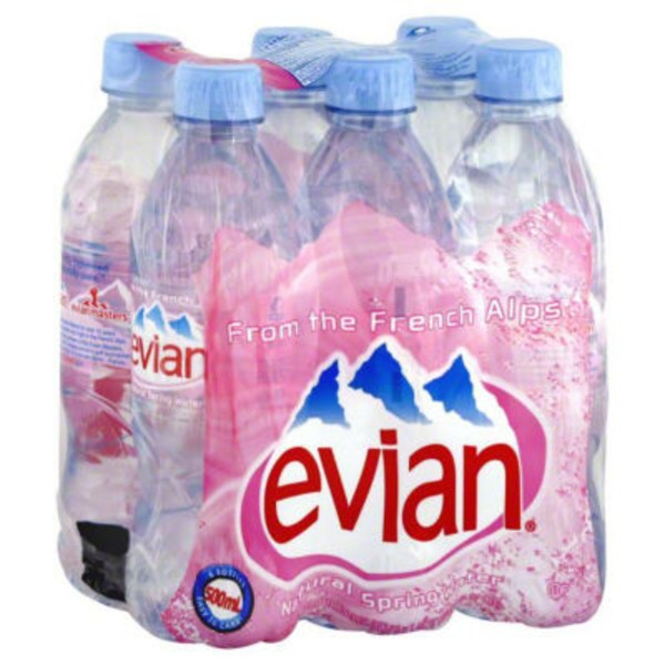 Evian Natural Spring Water