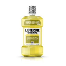 Original Listerine Antiseptic Mouthwash To Freshen Breath And Kill Germs In Mouth, 1.5 L