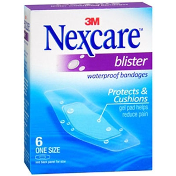 Nexcare Blister Water Proof Bandages