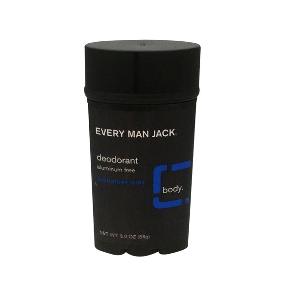 Every Man Jack Deodorant, Signature Mint