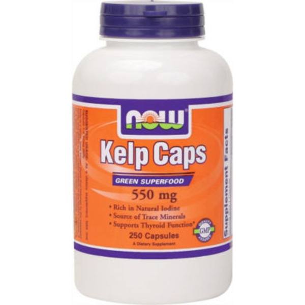 Now Kelp Caps 325 mcg of Natural Iodine V-Caps
