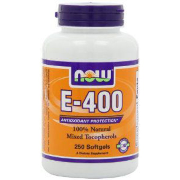 Now E 400 With Mixed Tocopherols