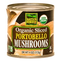 Native Forest Organic Portobello Mushrooms Sliced