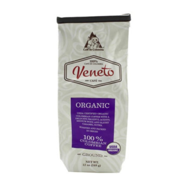 Cafe Veneto Organic Ground Coffee