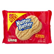 Nutter Butter Cookies, Family Size, 16 Oz,
