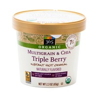 365 Organic Multigrain Chia Triple Berry Instant Hot Cereal