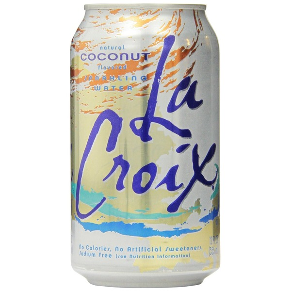 La Croix Natural Coconut Sparkling Water