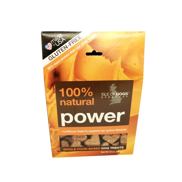 Isle of Dogs 100% Natural Power Whole Food-Based Dog Treats