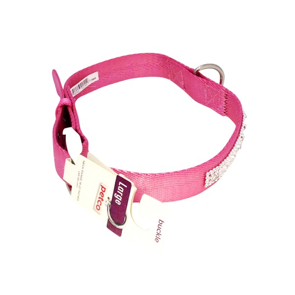 Petco Jeweled Nylon Dog Collar In Pink
