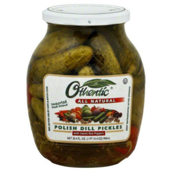 Othentic Polish Dill Pickles