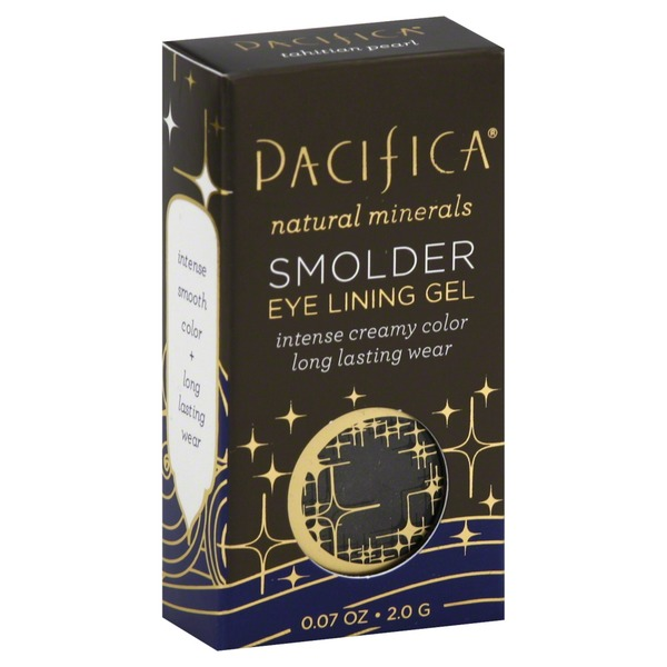 Pacifica Natural Minerals Smolder Eye Lining Gel Tahitian Pearl
