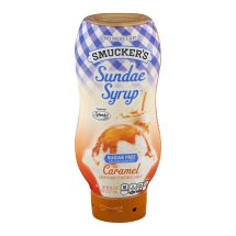 Smucker's Sundae Syrup Caramel Artificially Flavored Syrup, 19.25 oz