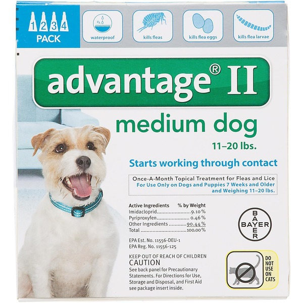 Advantage Medium Dog Flea Treatment