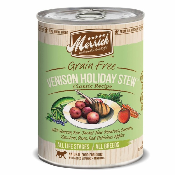 Merrick Venison Holiday Stew Grain Free Dog Food