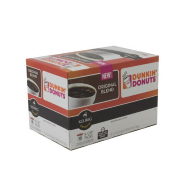 Dunkin' Donuts Original Blend Medium Roast Coffee K-Cups