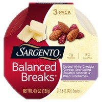 Sargento Balanced Breaks White Cheddar Cheese/Roasted Almonds/Dried Cranberries Snacks