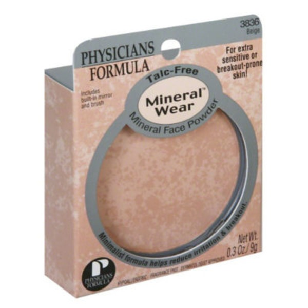 Mineral Wear™ 3836 Beige Mineral SPF 16 Face Powder