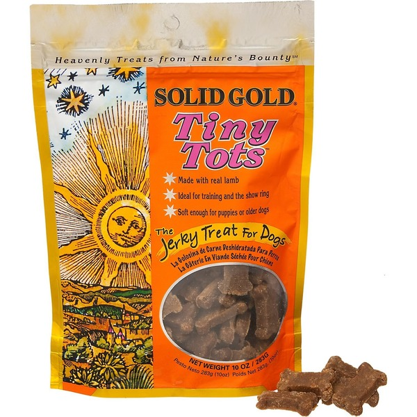 Solid Gold Tiny Tots Jerky Small Dog Treats