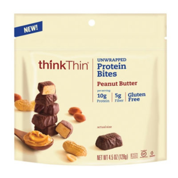 thinkThin Protein Bites Peanut Butter