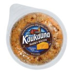 Kaukauna Smoky Bacon Spreadable Cheese with Almonds, 10 oz