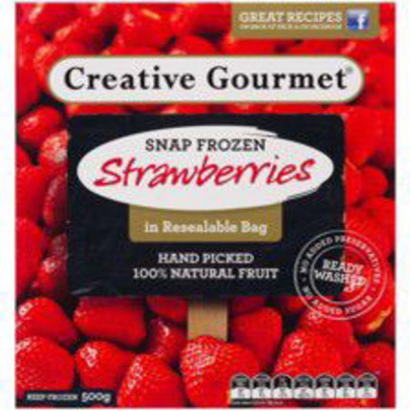 Creative Gourmet Snap Frozen Strawberries