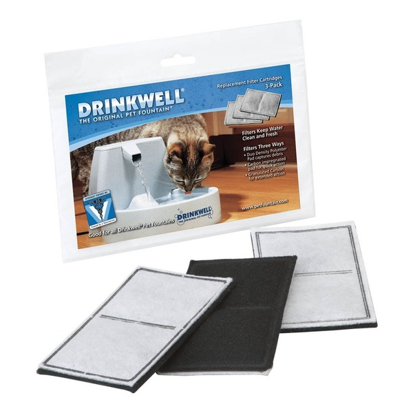 Cat 3 Pk Drinkwell Filters